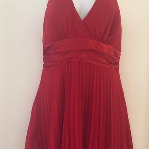 Little red cocktail dress brand new with a tag